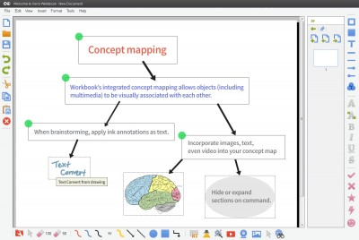 Workbook Concept Mapping